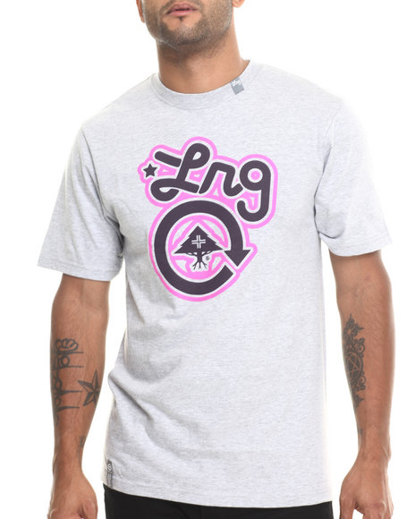 Lrg - Men Grey Core Collection One S/S Tee