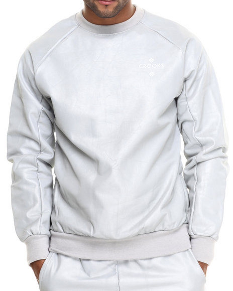 Crooks & Castles - Men Grey Lumin Sweatshirt