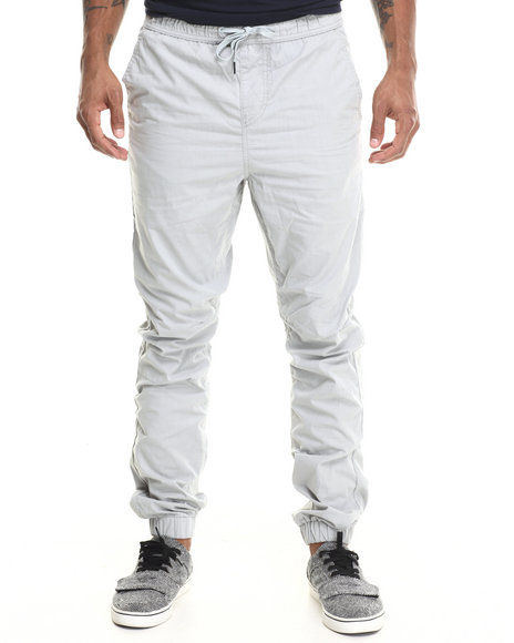 Lrg - Men Grey Retro Revival Slim-Straight Jogger Pants