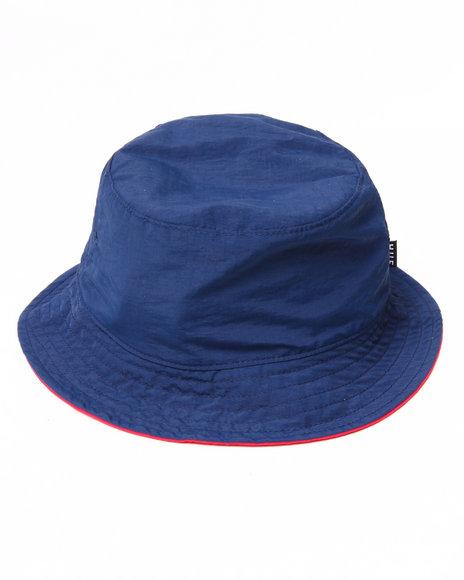 Huf Men Taslan Reversible Bucket Hat Navy Small/Medium