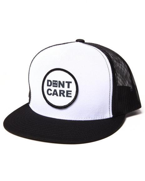 Don't Care Men Standard Trucker Cap Black