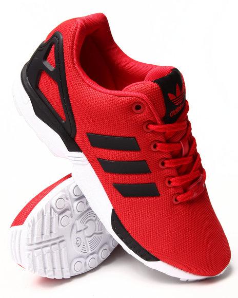 Adidas - Men Red Zx Flux Enhanced Sneakers