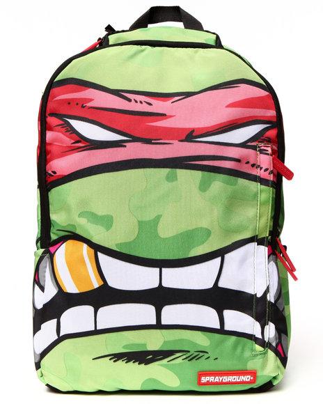 Sprayground Teenage Mutant Ninja Turtles Red Rafael Backpack Green