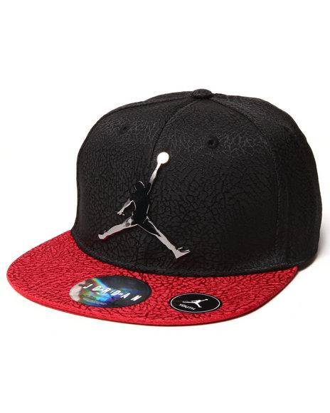 Air Jordan Boys Ele Elite Snapback (8-20) Black