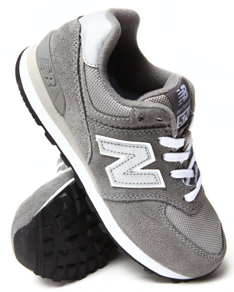 New Balance Boys Grey 574 Core Sneakers (11-3)