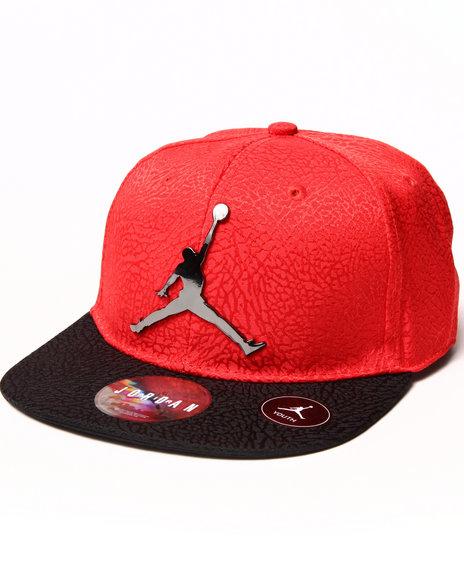 Air Jordan Boys Ele Elite Snapback (8-20) Red