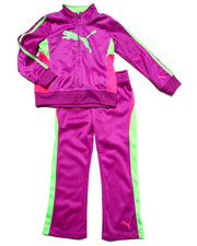 Girls - CAT TRACK TRICOT SET (4-6X)