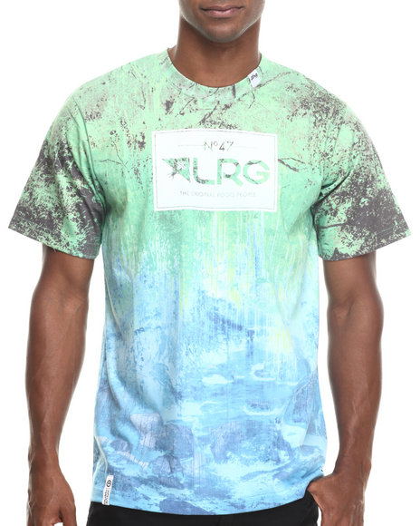Lrg - Men Green Roots People Sublimated S/S Tee