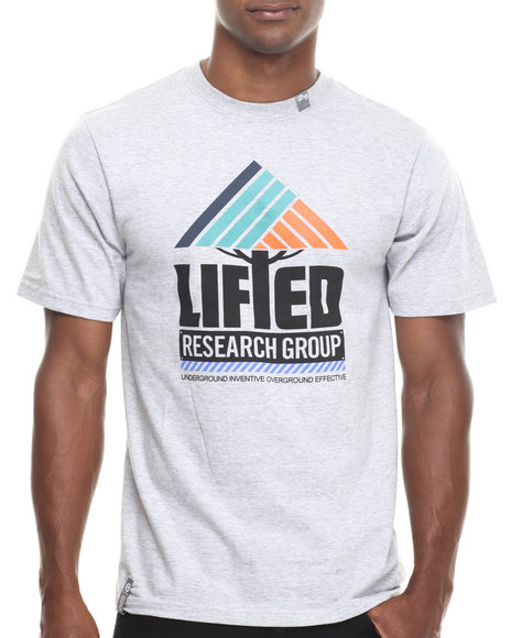 Lrg - Men Grey Lifted Research S/S Tee