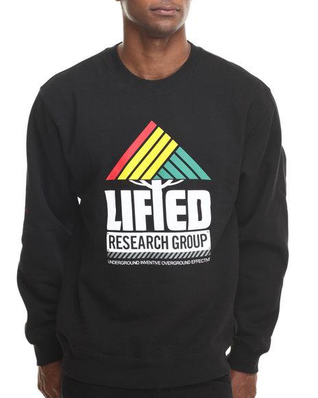 Lrg - Men Black Research Collection I I Crewneck Sweatshirt