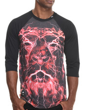 LRG - Lion Shocker 3/4 Raglan Tee
