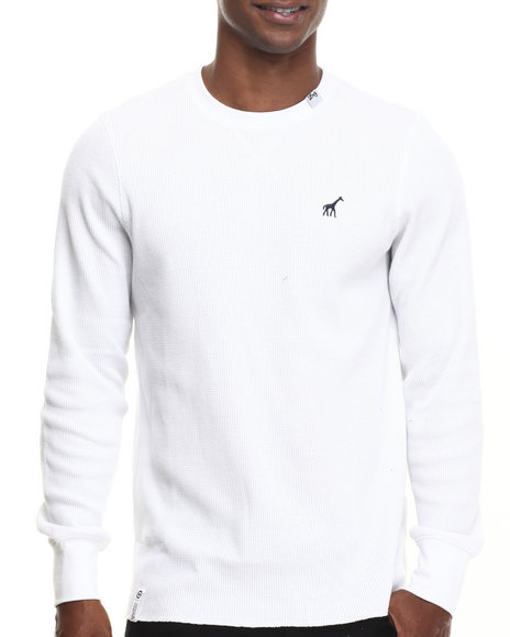 Lrg - Men White Research Collection L/S Thermal - $39.00