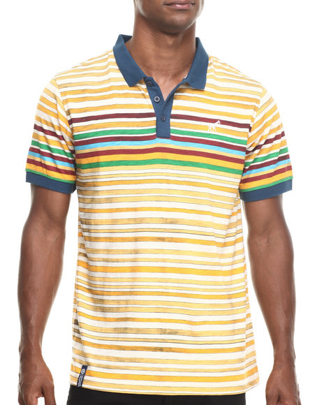 Lrg - Men Yellow Squad Up S/S Polo