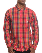Men - Research Collection L/S Plaid Button-Down