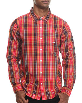 LRG - Research Collection L/S Plaid Button-Down