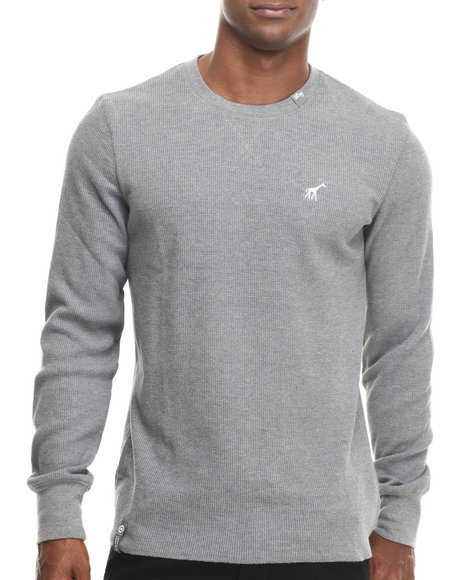 Lrg - Men Charcoal Research Collection L/S Thermal