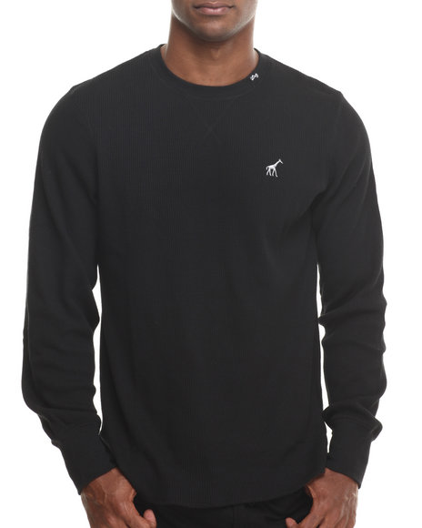 Lrg - Men Black Research Collection L/S Thermal