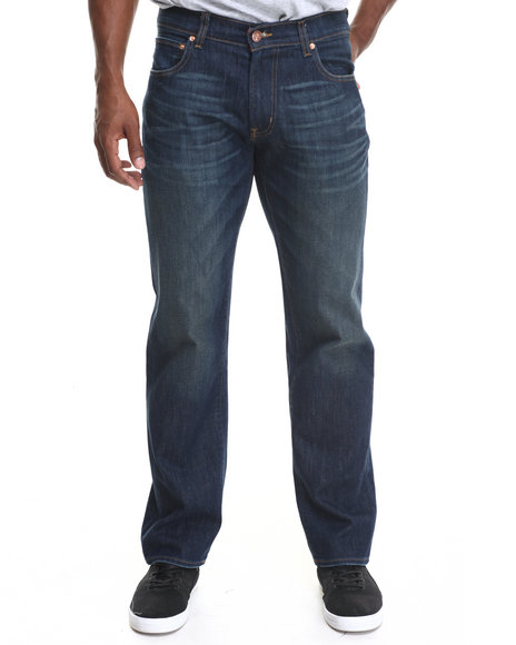 LRG - Men Vintage Wash Core True - Straight Denim Jeans