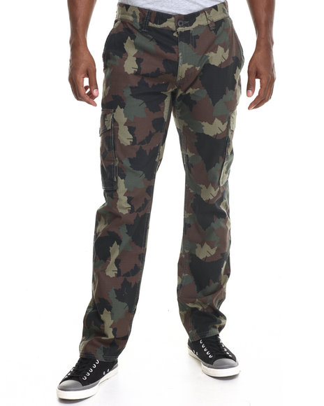 Lrg - Men Camo Core True - Straight Cargo Pants