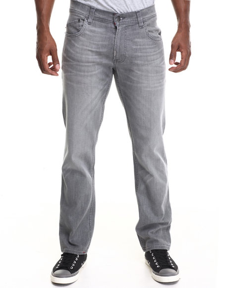 LRG - Men Grey Core True - Tapered Denim Jeans