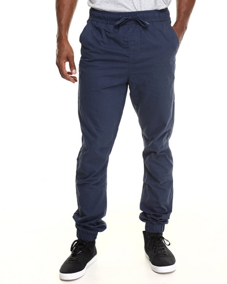 Lrg - Men Navy Retro Revival Slim-Straight Jogger Pants - $38.99