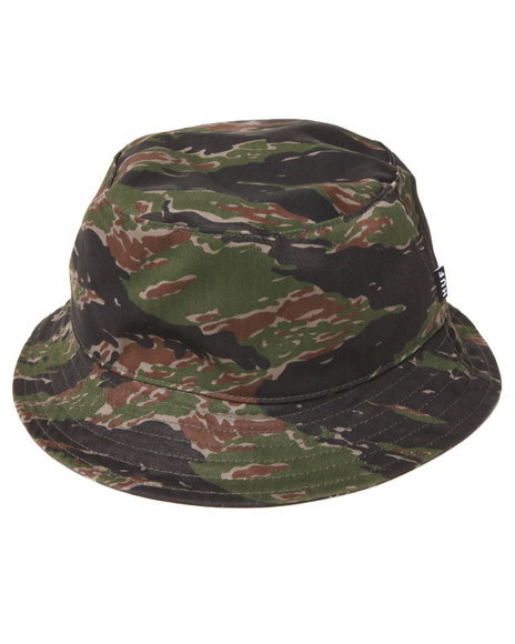 Huf - Men Camo Reversible Tiger Camo Bucket Hat