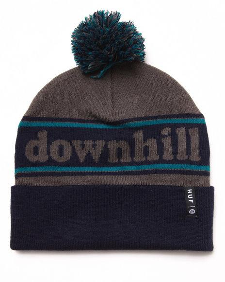 Huf Downhill Pom Beanie Navy