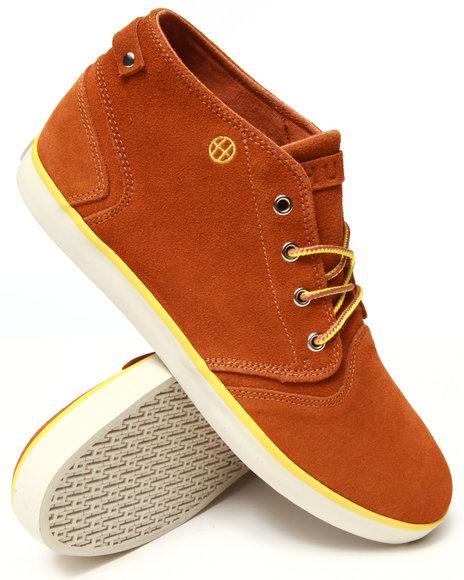 HUF Brown Mercer Sneakers