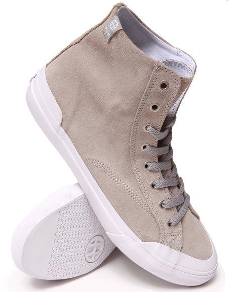 HUF Grey Classic Hi Sneakers