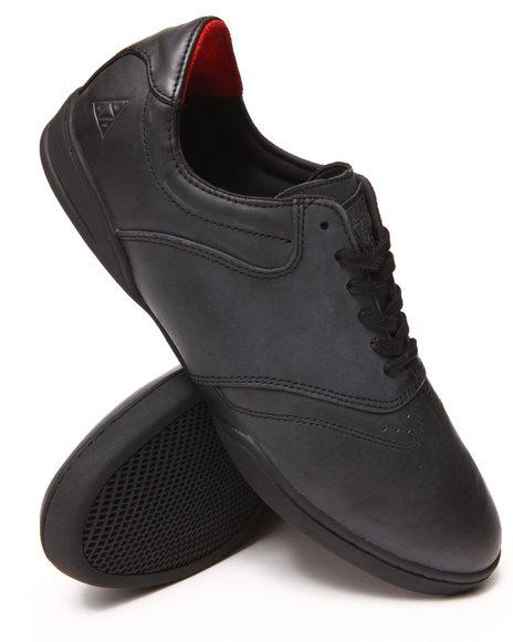 HUF Black Dylan Burnished Black Sneakers