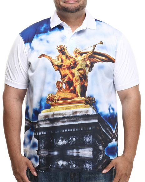 Ecko - Men White Statue Polo (B&T)
