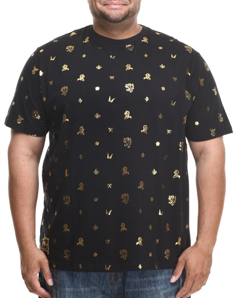 Eight 732 - Men Black Fly T-Shirt (B&T)