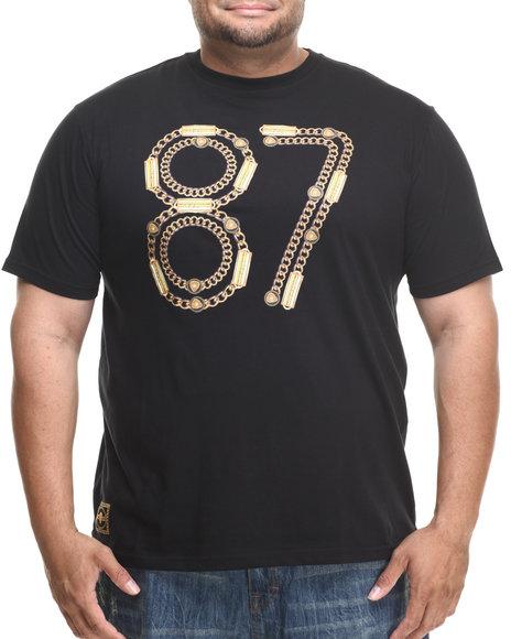 Eight 732 Black 87 T-Shirt (Big & Tall)