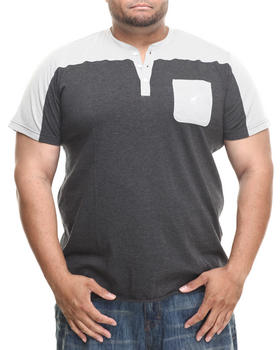 LRG - Biscuits S/S Henley (B&T)