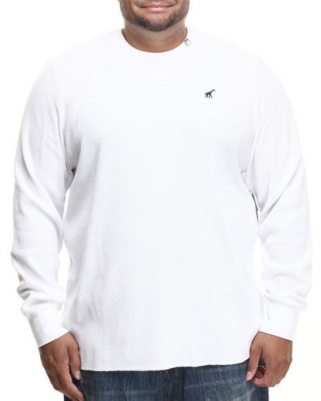 Lrg - Men White Research Collection L/S Thermal (B&T) - $32.99
