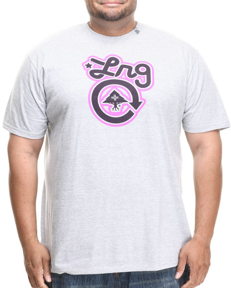 Lrg - Men Light Grey Core Collection One S/S Tee (B&T)