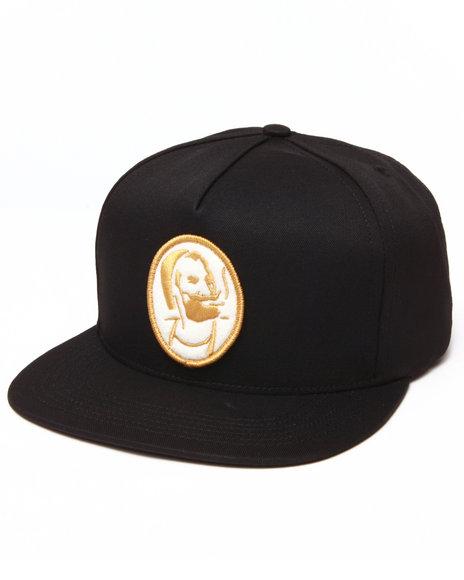 Huf Roller Snapback Cap Black