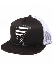 Famous Stars & Straps - Flag Badge Snapback Hat