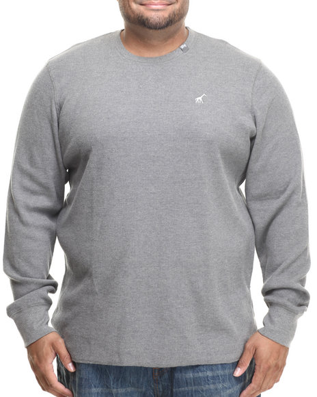 Lrg - Men Grey Research Collection L/S Thermal (B&T)