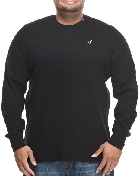 Lrg - Men Black Research Collection L/S Thermal (B&T)