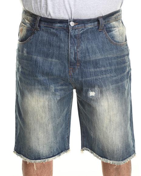 Eight 732 Vintage Wash Vein Denim Short (Big & Tall)