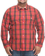 LRG - Research Collection L/S Plaid Button-Down (B&T)