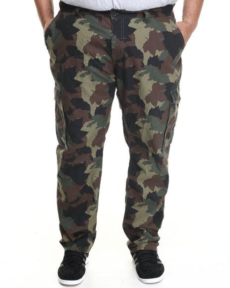 LRG Camo Core True Straight Cargo Pants (Big & Tall)