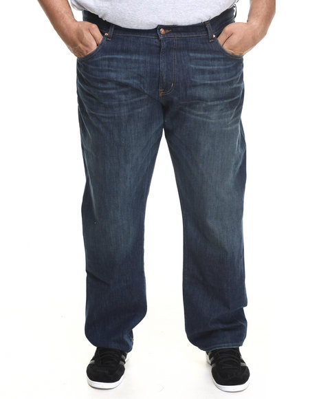 LRG - Men Dark Wash Core True - Straight Denim Jeans (B & T)