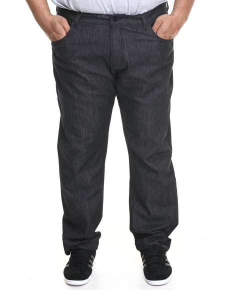 LRG - Men Black Core True - Straight Denim Jeans (B & T)