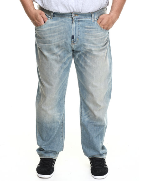 Lrg - Men Light Wash Core True - Straight Denim Jeans (B&T)