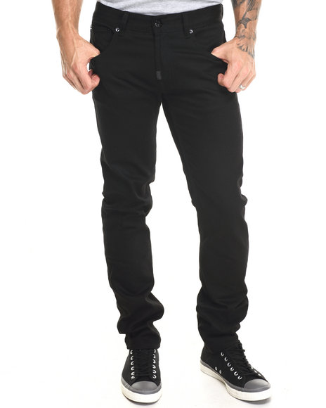 Lrg - Men Black The Skinny Denim Jeans
