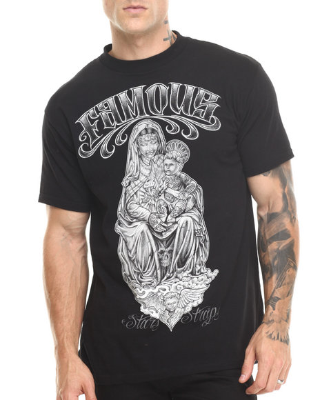 Famous Stars & Straps Black Franco Tattoo Royalty Tee