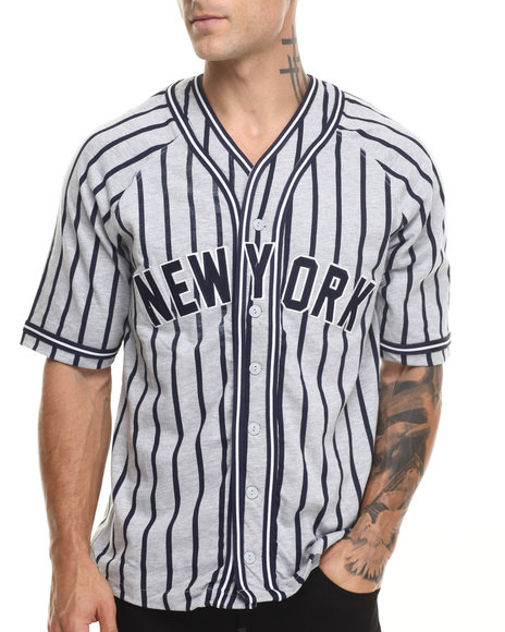 Basic Essentials - Men Grey Grand Slam Jersey