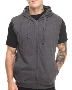Basic Essentials - Hooded Fleece Vest